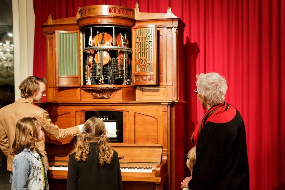 muziekinstrumenten beluisteren