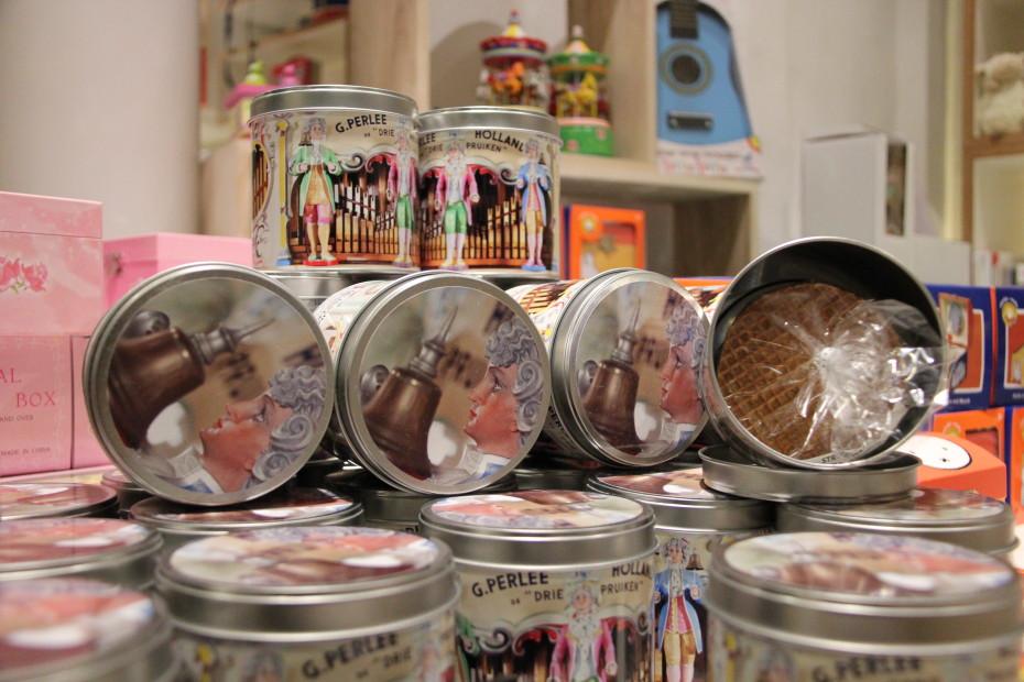 Koop lekkere koeken in de museumwinkel