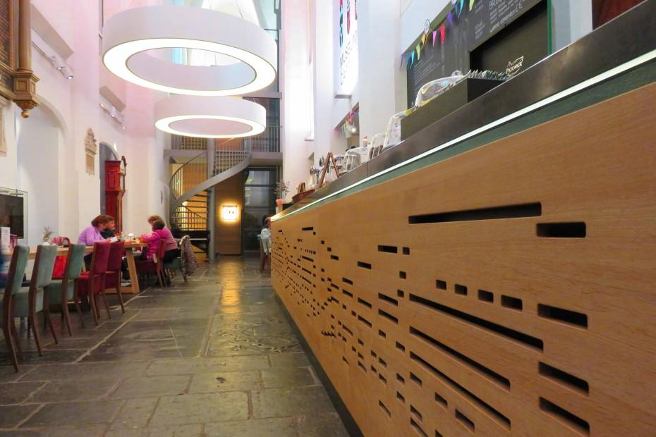 Museumcafé Klok, een café in een kerk in stad Utrecht