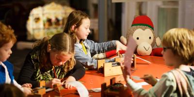 knutselen in museum speelklok