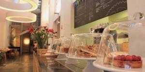 Openbaar café in het centrum van Utrecht: Museumcafé Klok