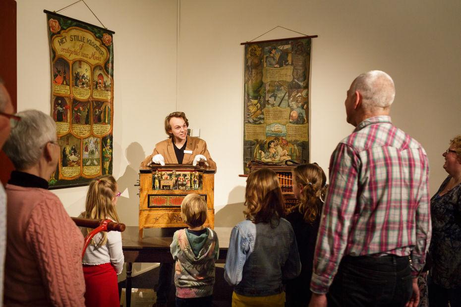 muzikale rondleiding door Museum Speelklok in Utrecht