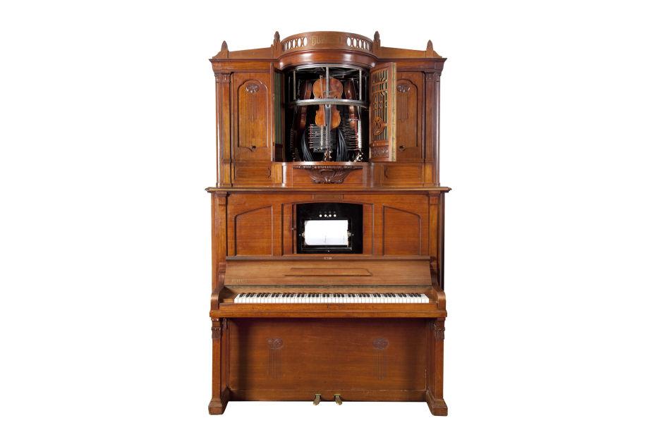 Orchestrions Phonoliszt Violina ca. 1925 collectiestuk Museum Speelklok