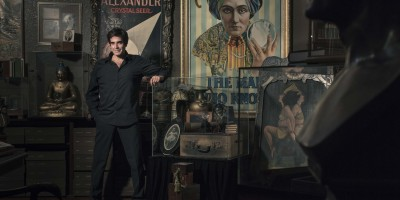 David Copperfield in zijn museum in LA _ Fotocredits Homer Anthony Liwag