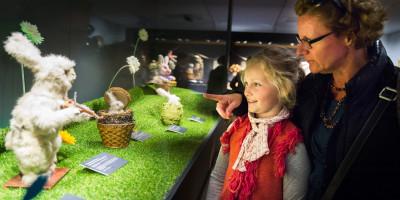 De konijnen in de kool in Museum Speelklok