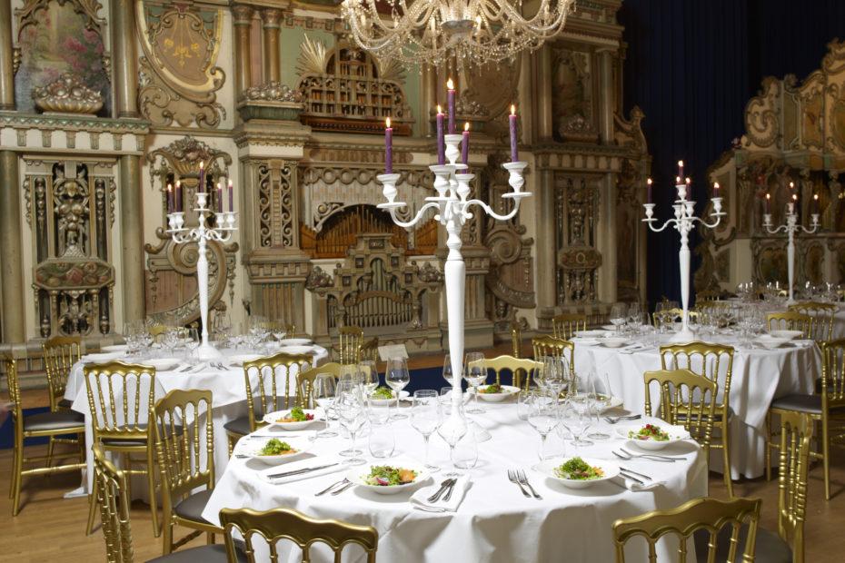 Dineer samen met uw gasten in de zalen van Museum Speelklok