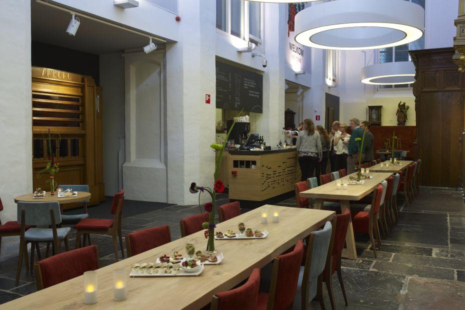 Museum cafe bijeenkomst locatie Utrecht centrum