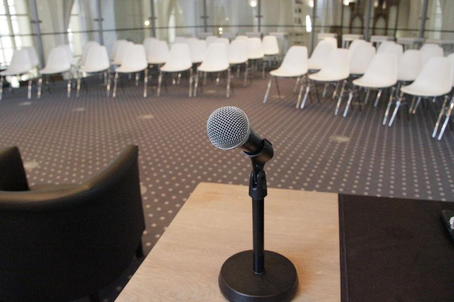 Transeptzaal vergadering zakelijk Utrecht centrum