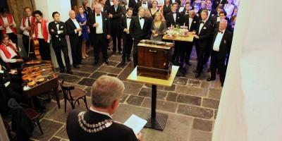 Burgemeester Jan van Zanen opent het Utrecht Diner