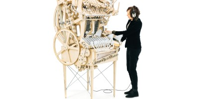Wintergatan Marble Machine inspred by Museum Speelklok Utrecht