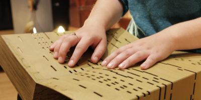 Stem op het blinden en slechtziendenproject van Museum Speelklok!