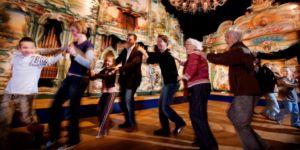 Uitfeest Utrecht: robot dansparade & schminken in robotstijl