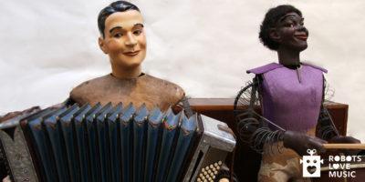 Oog in oog met levensgrote robotmuzikanten
