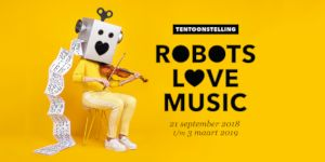 Campagnebeeld Robots love Music