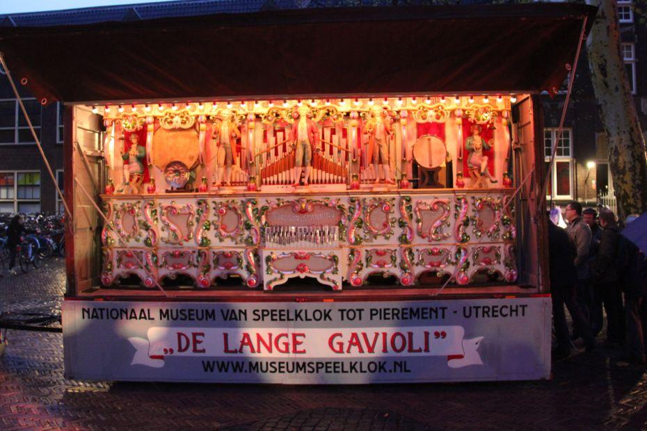 Orgelmuziek bij Sint Maarten Parade