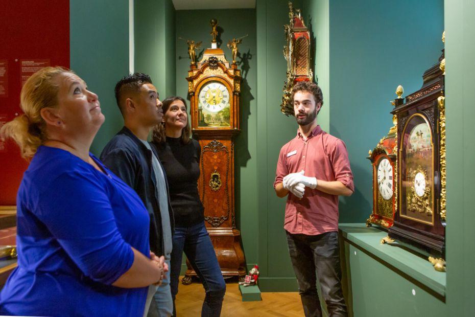 Klokken in de Museum Expeditie