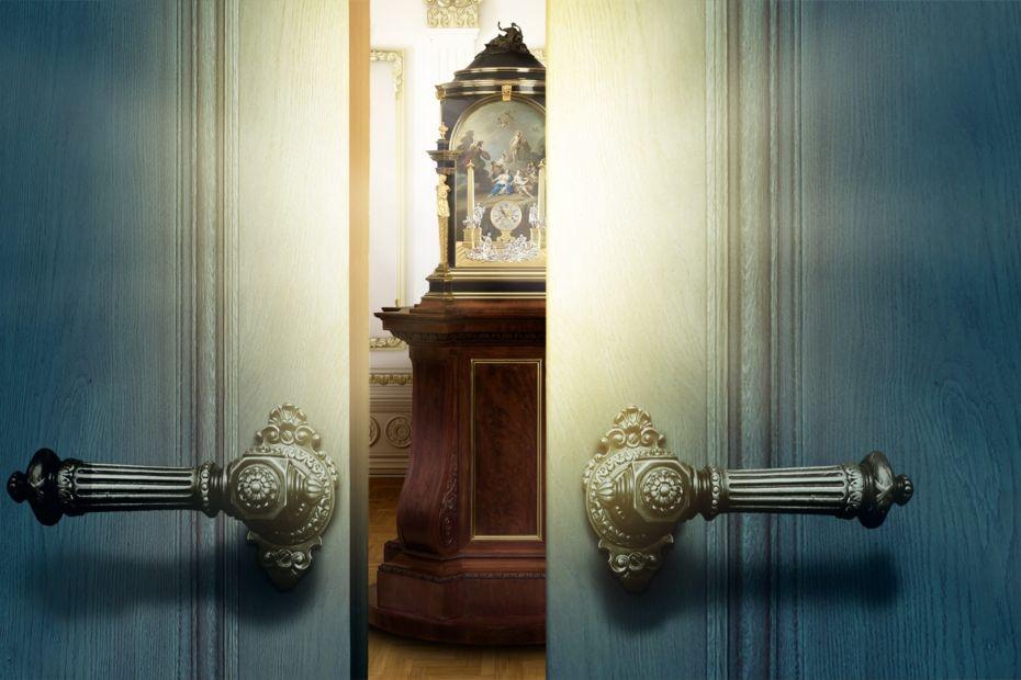 Een Koninklijke Kamer in Museum Speelklok